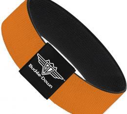 Buckle-Down Elastic Bracelet - Orange