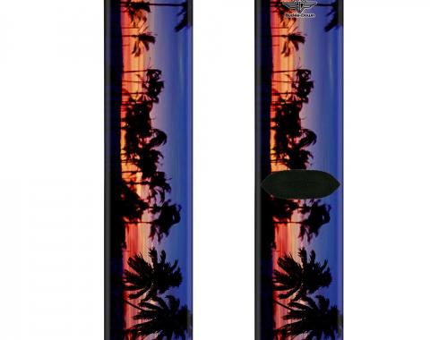 Sock Pair - Polyester - California Sunset - CREW