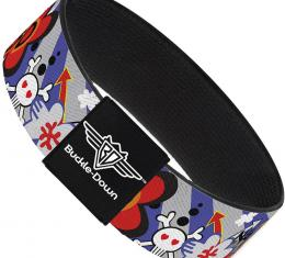 Buckle-Down Elastic Bracelet - BD Cartoon