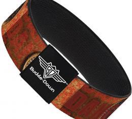 Buckle-Down Elastic Bracelet - Danger Gauge