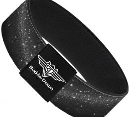 Buckle-Down Elastic Bracelet - Galaxy Arch Black/Gray/White