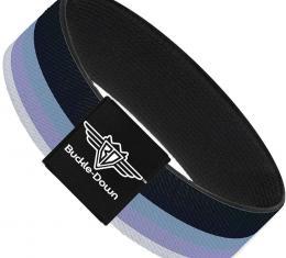 Buckle-Down Elastic Bracelet - Spectrum Blue