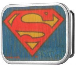 Superman Framed FCWood Blue - Matte Rock Star Buckle
