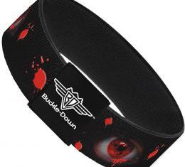 Buckle-Down Elastic Bracelet - Genjutsu Eye