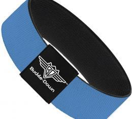 Buckle-Down Elastic Bracelet - Baby Blue