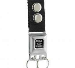 Keychain - Built Ford Tough - Black