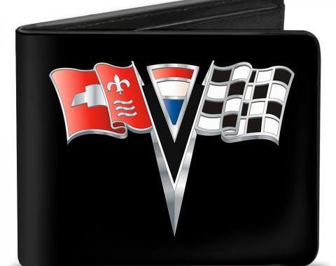 Bi-Fold Wallet - Corvette Stingray C2 Emblem Black