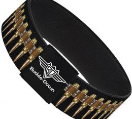 Buckle-Down Elastic Bracelet - Bullets