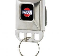 Keyholder - Classic DATSUN Logo Full Color Black/Red/Blue/White