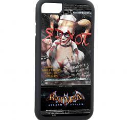 Rubber Cell Phone Case - BLACK - BATMAN ARKHAM ASYLUM Harley Quinn Inmate Pose FCG