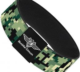 Buckle-Down Elastic Bracelet - Digital Camo