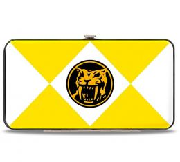 Hinged Wallet - Diamond Yellow Ranger Saber-Toothed Tiger Coin