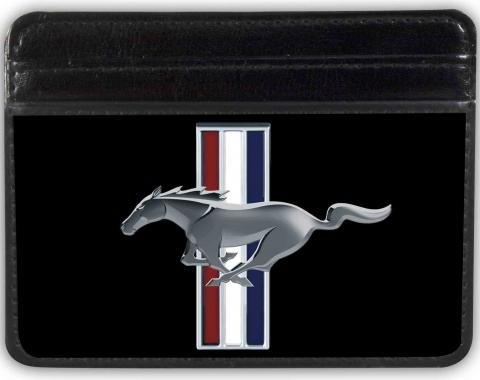 Weekend Wallet - Ford Mustang w/Bars Logo CENTERED