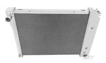 Champion Cooling 2 Row All Aluminum Radiator Made With Aircraft Grade Aluminum EC571