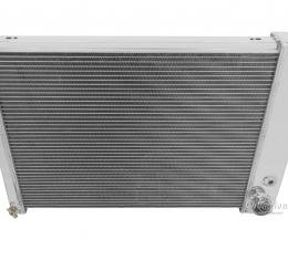 Champion Cooling 2 Row All Aluminum Radiator Made With Aircraft Grade Aluminum EC370
