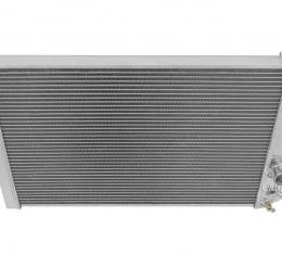 Champion Cooling 2 Row All Aluminum Radiator Made With Aircraft Grade Aluminum EC829