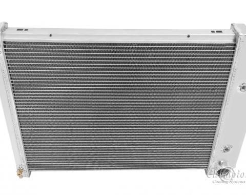 Champion Cooling 3 Row All Aluminum Radiator Made With Aircraft Grade Aluminum CC571