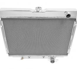 Champion Cooling 2 Row All Aluminum Radiator Made With Aircraft Grade Aluminum EC338
