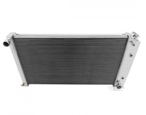 Champion Cooling 4 Row All Aluminum Radiator Made With Aircraft Grade Aluminum MC161