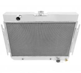 Champion Cooling 2 Row All Aluminum Radiator Made With Aircraft Grade Aluminum EC289