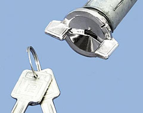 Corvette Ignition Lock, With Keys, 1969-1978