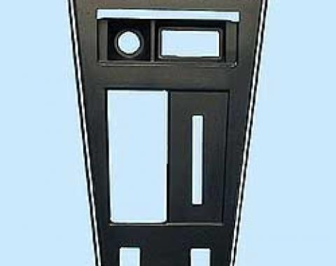 Corvette Shifter Console Trim Plate, With Power Windows, 1977-1982