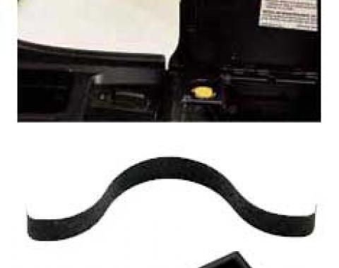 Corvette Button & Spring Console Lid Repair Kit, 1984-1996