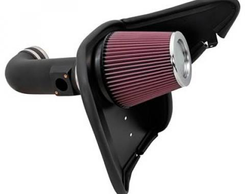 Camaro Air Intake Kit, K&N Series Aircharger High Performance Air Intake, V8, 2010-2013