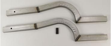 Camaro/Firebird Competition Engineering Formed Rear Frame Rails, 1970-1981