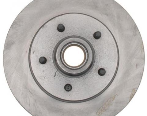 Front Brake Rotor & Hub