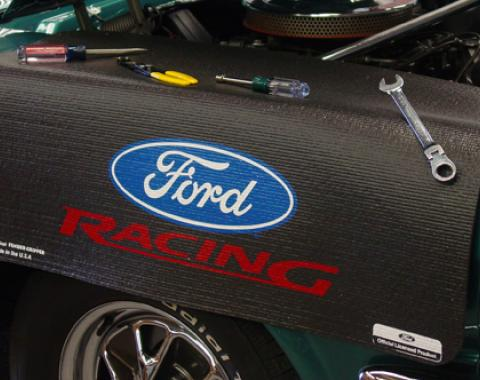 Fender Gripper® Cover, Black with Ford Racing Logo
