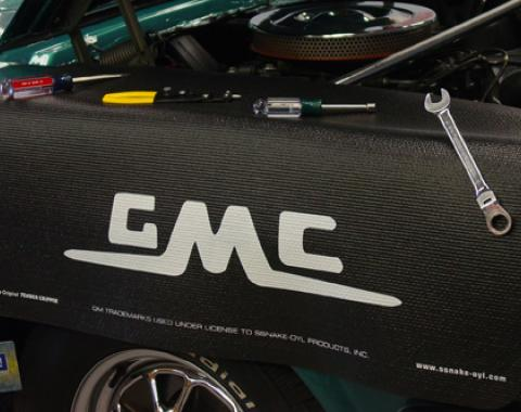 Fender Gripper® Cover, Black with GMC Logo