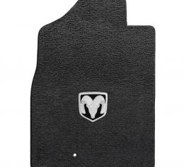 Lloyd Mats Ram 1500 Quadcab Pickup 2009-2012.5 2 Piece Front Dark Slate Ultimat Silver Ram Logo 600055
