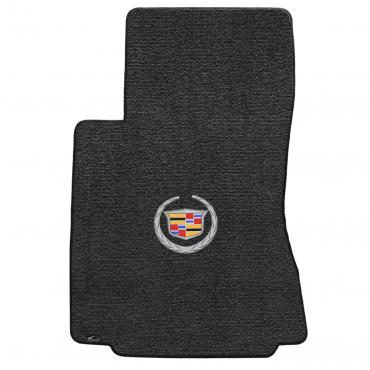 Lloyd Mats 2009-2013 Cadillac CTS CTS-V Sedan/wagon 2009-2013.5 2 Piece Mats Ebony Ultimat Cadillac Logo 600074
