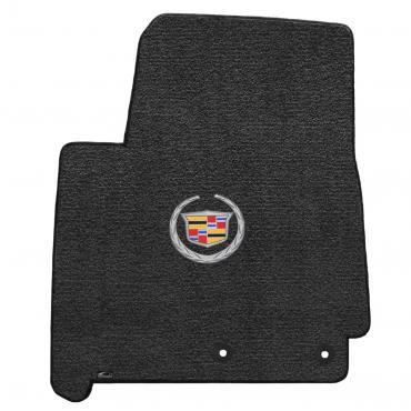 Lloyd Mats 2012-2014 Cadillac SRX Srx 2012-2014 3pc Mats Ebony Ultimat Cadillac Logo 600091