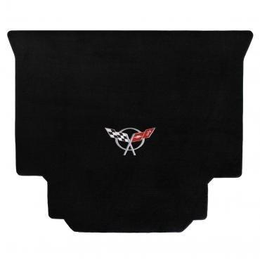 Lloyd Mats 1999-2004 Chevrolet Corvette Corvette 1999-2004 Hardtop Cargo Mat Black Velourtex C5 Logo 620019
