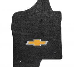 Lloyd Mats 2007-2014 Chevrolet Tahoe Tahoe 2007-2014 2 Piece Front Ebony Ultimat Gold Bowtie Logo 600051