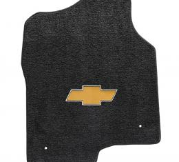 Lloyd Mats 2000-2006 Chevrolet Suburban 1500 Suburban 2000-2006 2 Piece Front Ebony Ultimat Gold Bowtie Logo 600048