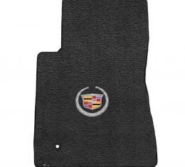 Lloyd Mats 2011-2015 Cadillac CTS Cts 2WD Coupe 2011-2015 2 Piece Mats Ebony Ultimat Cadillac Logo 600076