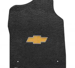 Lloyd Mats Silverado Std Cab 1999-2007 2 Piece Front Ebony Ultimat Gold Bowtie Logo 600046