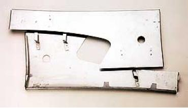 Corvette Door Panel Supports, Upper, Metal, 1958