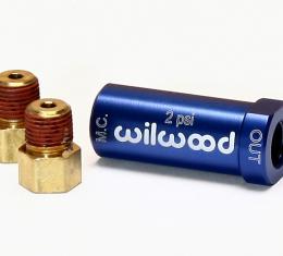Wilwood Brakes Residual Pressure Valve 260-13783