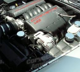Corvette C6 Chrome Cap Cover Set 5 Piece, 2005-2013