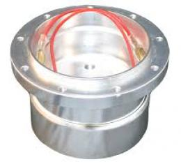 Steering Wheel Hub Adapter, for use with Volante S9 Steering Wheels, Brushed Aluminum, STH1002