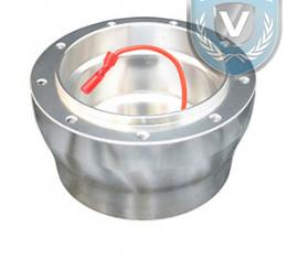 Steering Wheel Hub Adapter, for use with Volante S9 Steering Wheels, Brushed Aluminum, STH1006