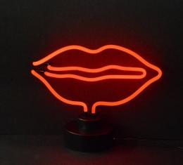 Neonetics Neon Sculptures, Lips Neon Sculpture