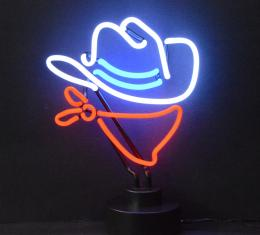 Neonetics Neon Sculptures, Cowboy Neon Sculpture