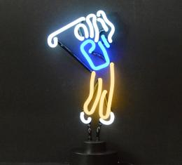 Neonetics Neon Sculptures, Golfer Neon Sculpture