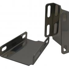 MBM GM 1958-1970 Booster Bracket Powder Coated Black CT6372BK-PC