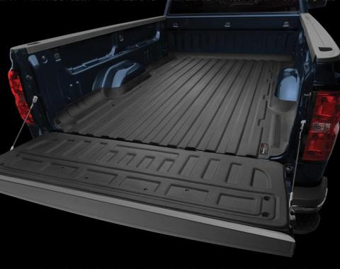 Weathertech WTC36914, Bed Mat, TechLiner (TM), Direct-Fit, With Raised Edges, Black, Thermoplastic Elastomer